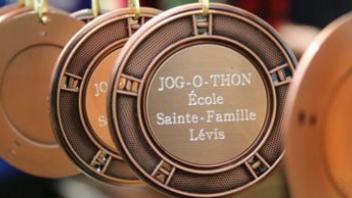 Jog-O-Thon de l'École Sainte-Famille à Lévis