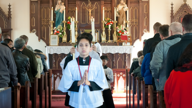 Church of the Transfiguration - Toronto - Visit of Fr Gomis - November 2019